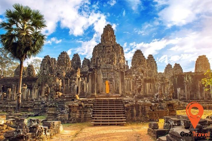 Ăng-cô (Angkor) là kinh đô của Vương quốc Khmer (cuối thế kỷ thứ 9)