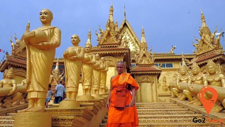 Phật giáo đã gắn liền với sự hưng vong của vương quốc Campuchia