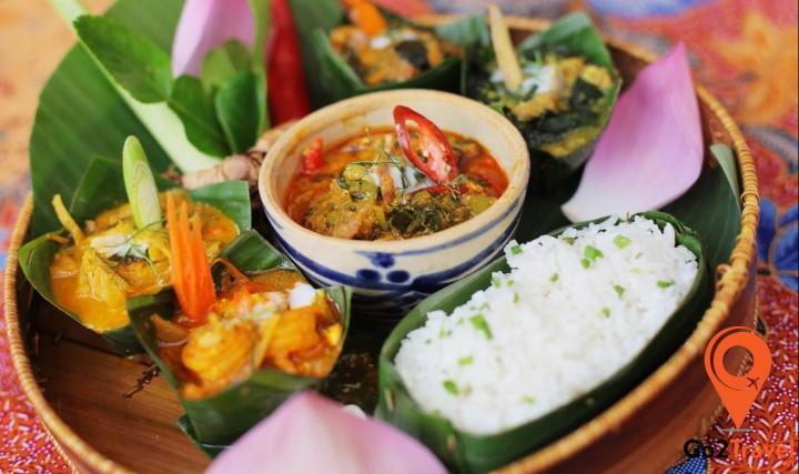 Các thực phẩm chủ yếu cho người dân Campuchia là lúa gạo