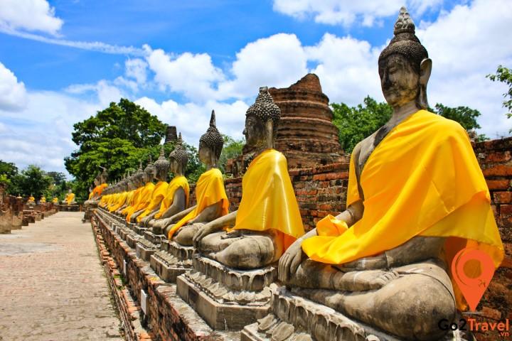 Nét rêu phong của Wat Yai Chai Mongkol