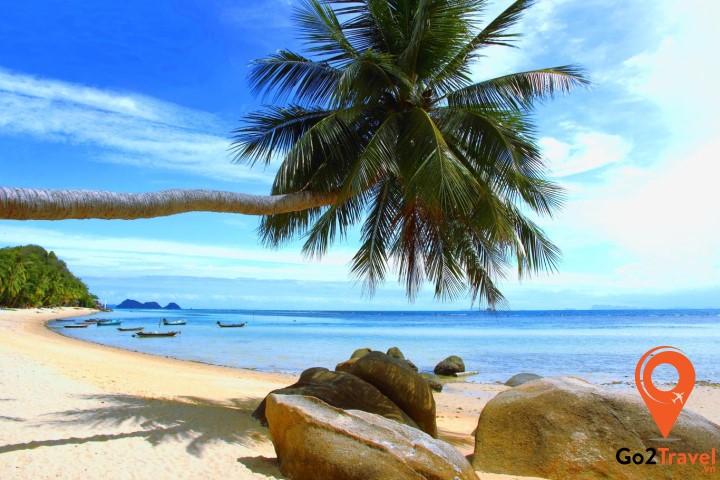 Sairee là nơi có view cảnh biển tuyệt đẹp