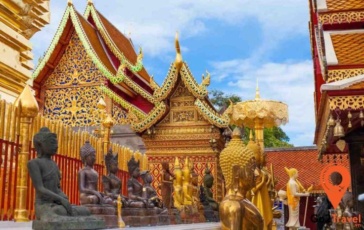 Chùa Phrathat Doi Chom Thong