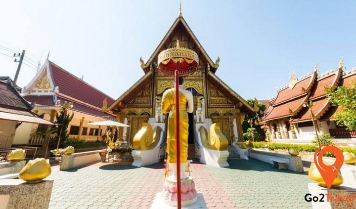 Kiến trúc Lanna Thai của Chùa Phra Sing Chiang Rai