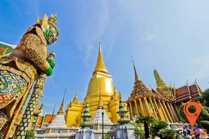 Chùa Núi Vàng Wat Saket Bangkok