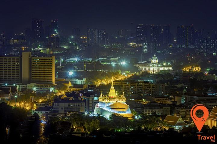 Chùa được xây dựng bởi vua Rama I