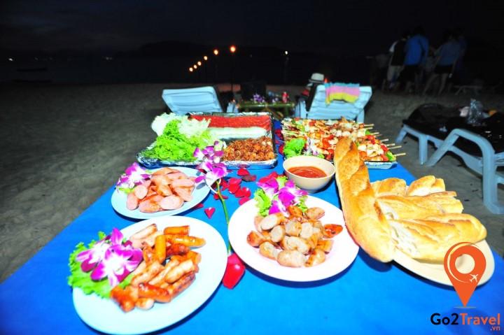 Những món ăn trên đảo Coral Thái Lan