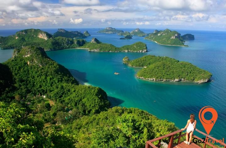 Angthong Marine Park là một trong những khu bảo tồn thiên nhiên và lặn biển tuyệt vời nhất thế giới