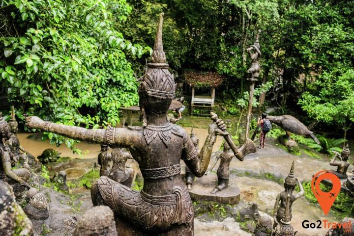 vườn tượng này thật sự là một điểm tham quan không thể bỏ lỡ