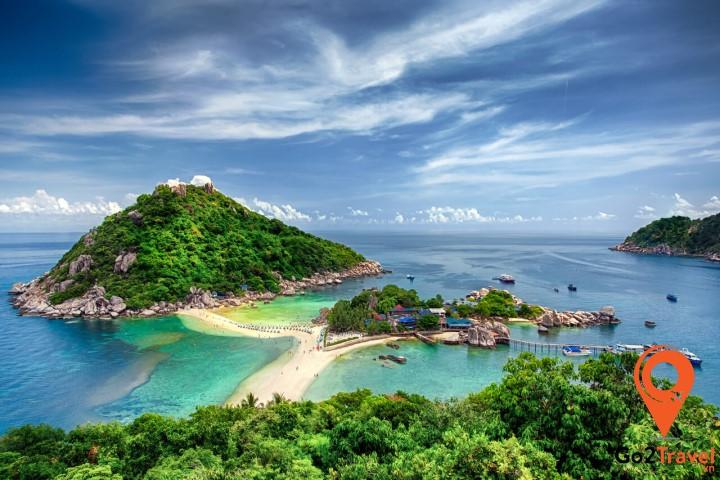 Cảnh quan đảo Koh Samui