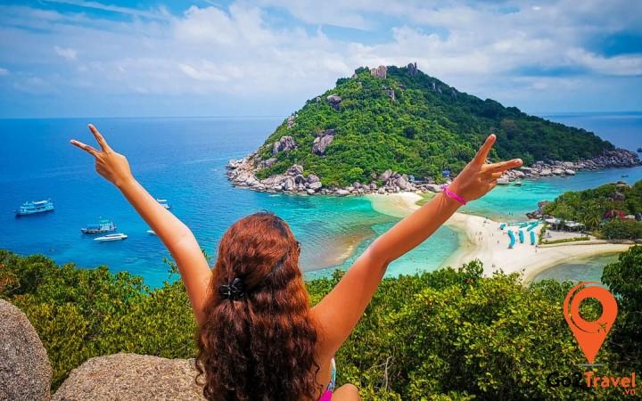 Thư giãn vởi cảnh quan tại đảo Koh Samui