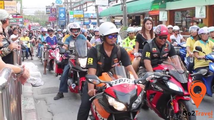Hình ảnh lễ hội Phuket Bike week