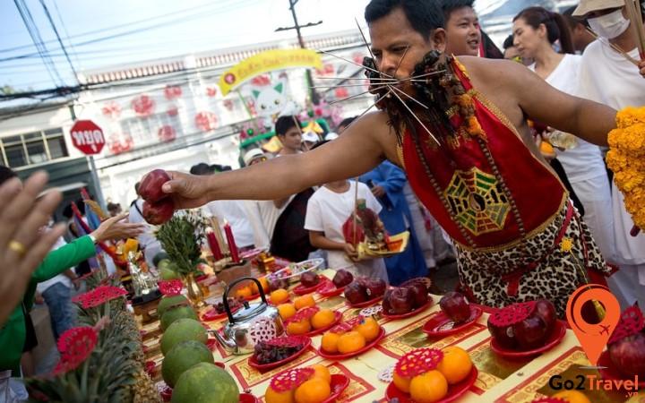 Lễ hội ăn chay tại Phuket