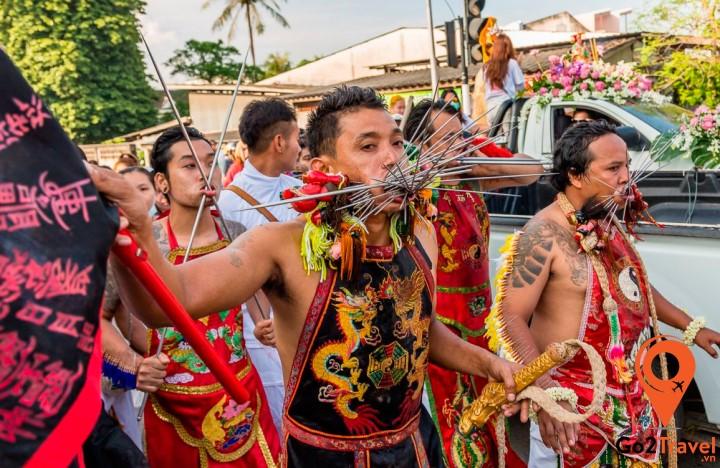 Lễ hội ăn chay tại Thái Lan