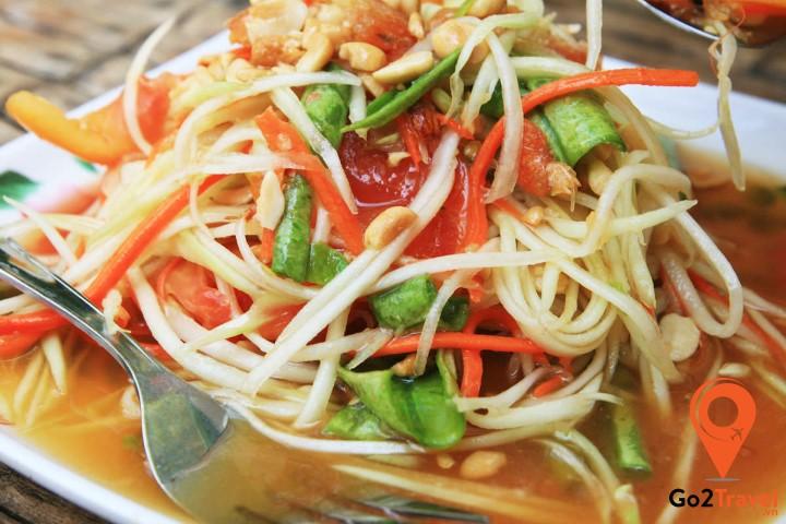 Món nộm đu đủ Thái Lan