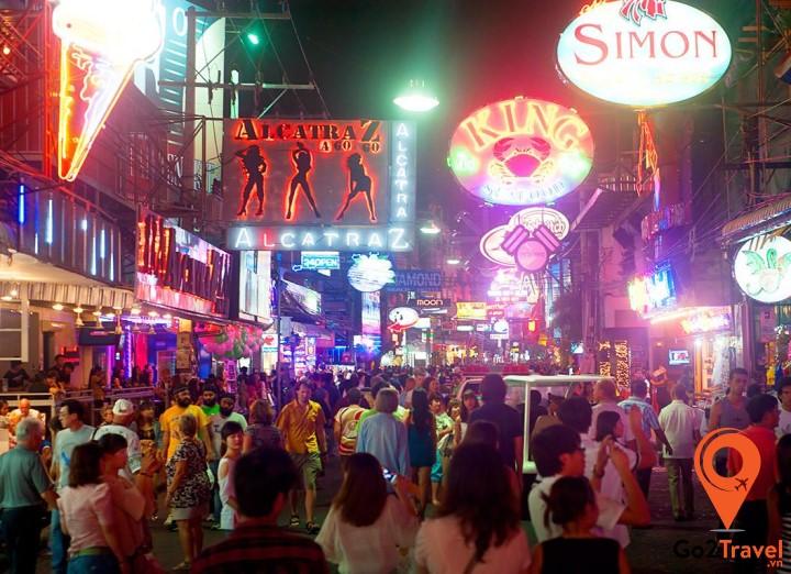 Khu phố nổi tiếng trong chuyến du lịch Pattaya