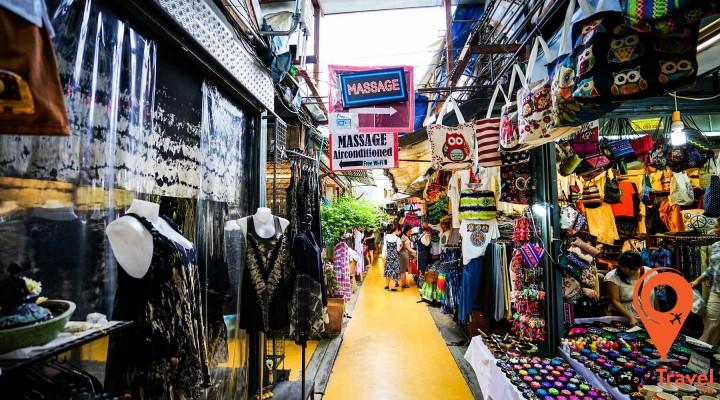 Các khu chợ có đầy đủ tất cả các loại mặt hàng