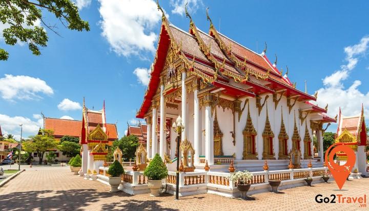 Nơi sở hữu những kiến trúc độc đáo riêng có của Thái Lan