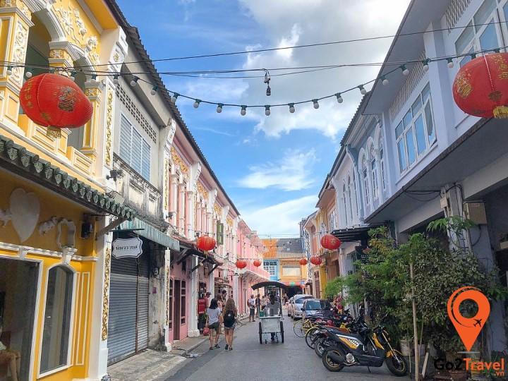 Phố cổ Phuket - Thái Lan
