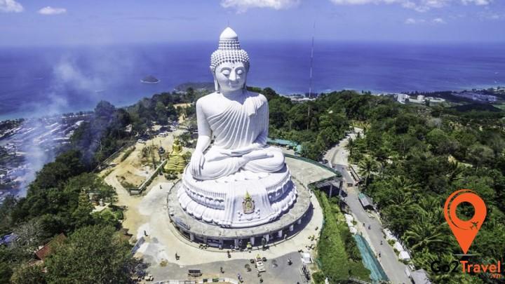 Bức tượng Phật lớn nhất ở Phuket
