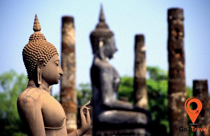 Đạo Phật - tôn giáo chính thức ở Thái Lan