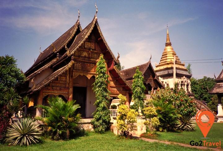 Wat Chiang Man - ngồi đền cổ nhất Chiang Mai